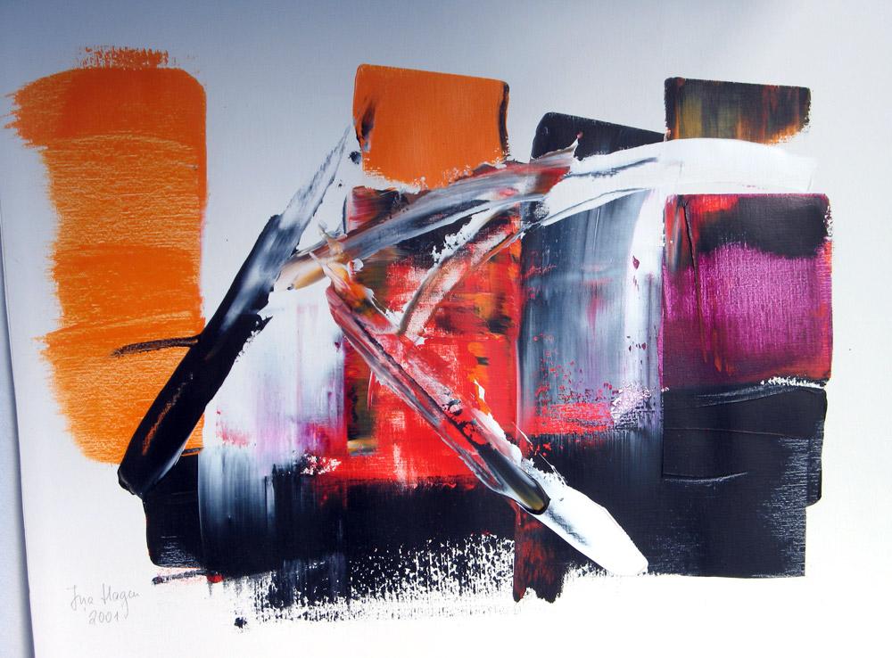 Acryl | 50 cm x 60 cm | Karton