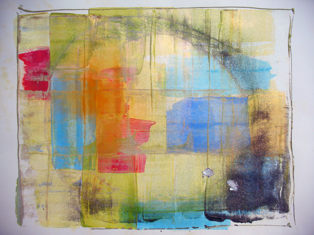 Acryl | 42 cm x 55 cm | Karton