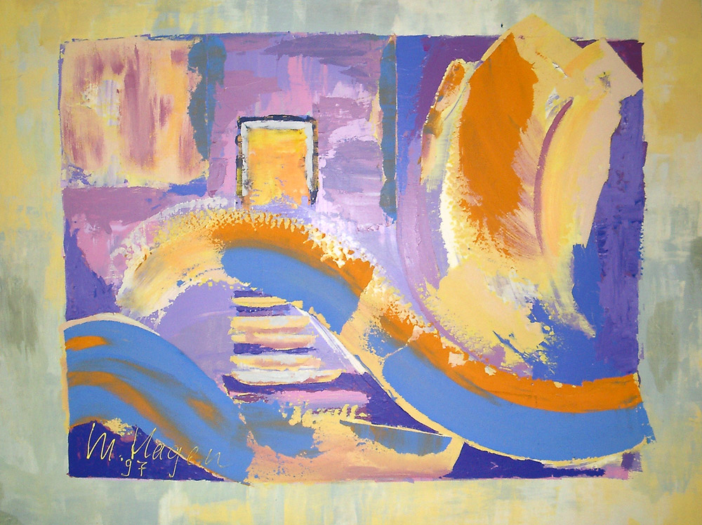 Acryl | 80 cm x 65 cm | Holzplatte