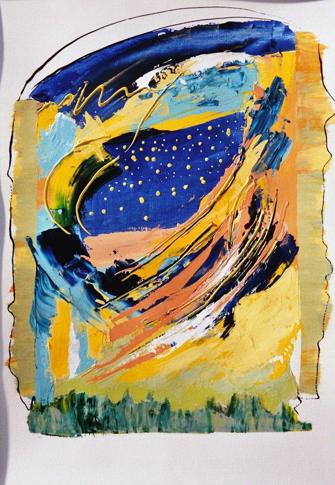 Acryl | 42 cm x 55 cm | Leinwand