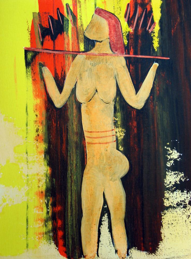 Acryl | 28 cm x 42 cm | Karton