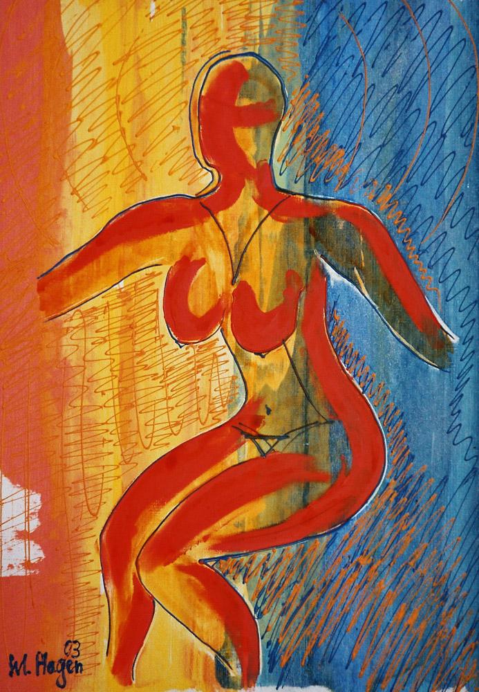 Acryl | 40 cm x 52 cm | Leinwand