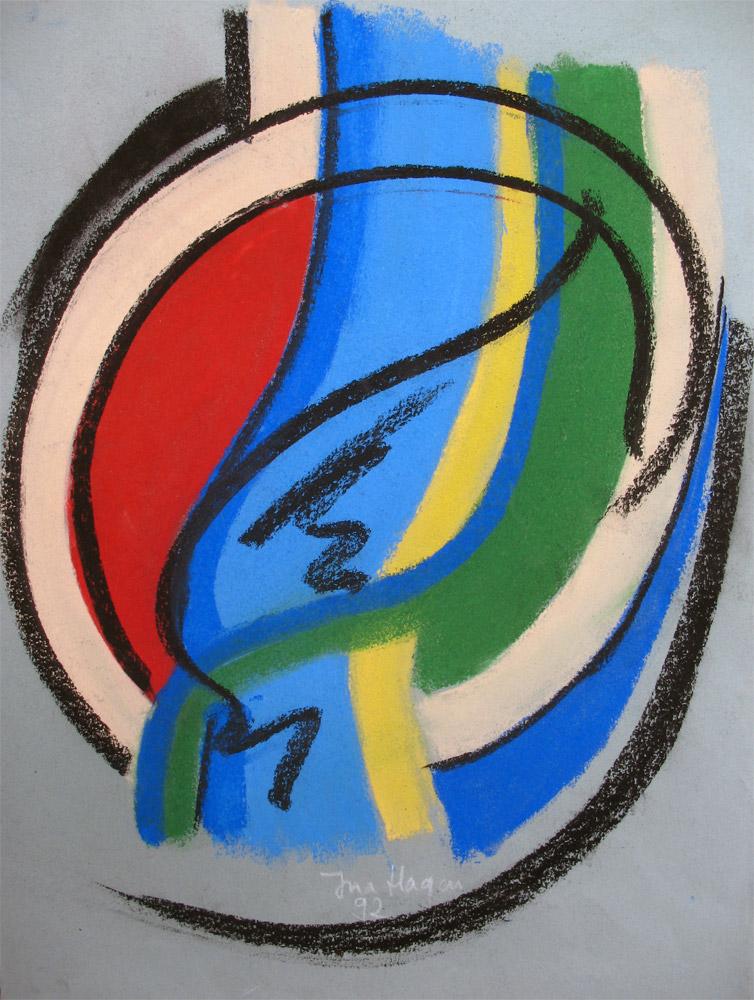 Pastell | 40 cm x 55 cm | Pastellpapier