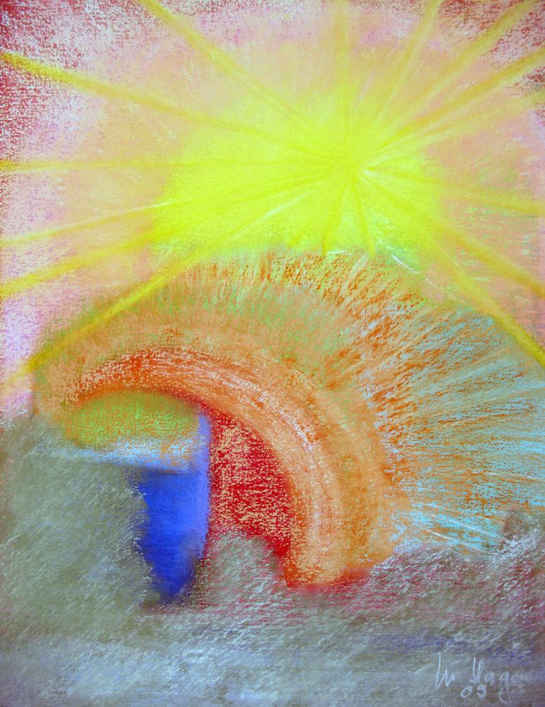 Pastell | 50 cm x 60 cm | Leinwand