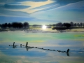 Aquarell | 50 cm x 65 cm | 100% Hadernpapier
