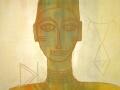 Acryl mit irisierenden Farben   50 cm x 60 cm   Leinwand