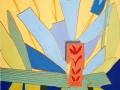 Acryl mit Effektpasten | 50 cm x 60 cm | Leinwand